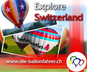 Explore Switzerland in a Hot Air Balloon