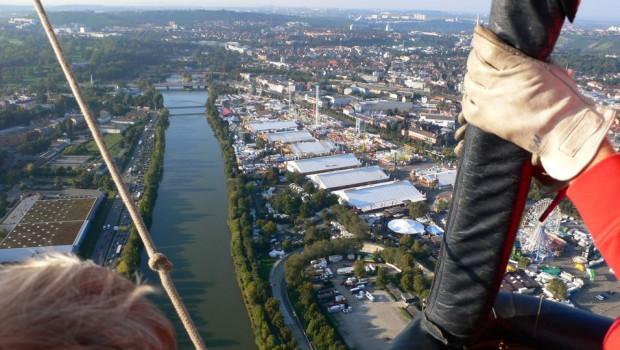 Volksfest-Wettfahrt der Ballonsportgruppe Stuttgart