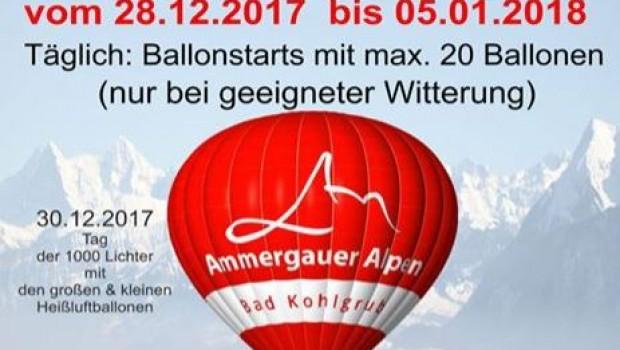 6. Winter-Ballon-Tage in Bad Kohlgrub