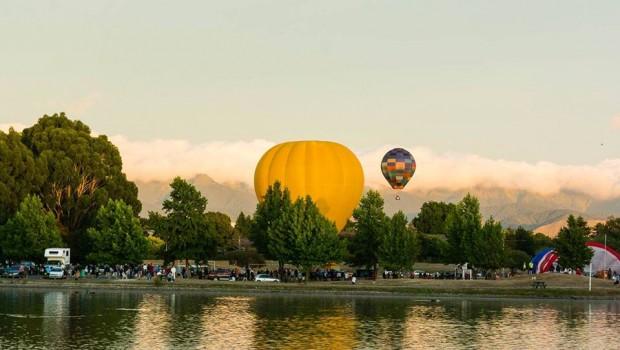 Photo courtesy of Geoff Walker — Henley Lake, Masterton