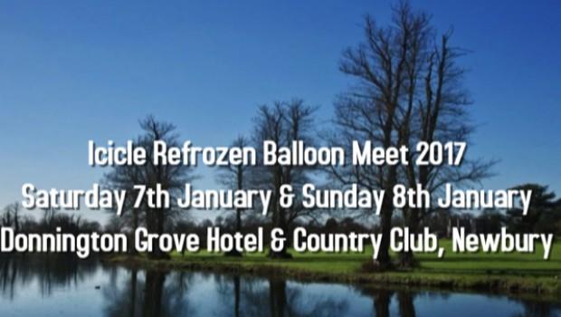 Icicle Refrozen Balloon Meet