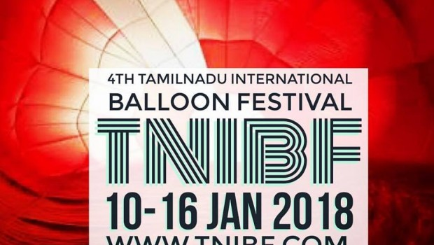 4th TAMILNADU INTERNATIONAL BALLOON FESTIVAL 2018