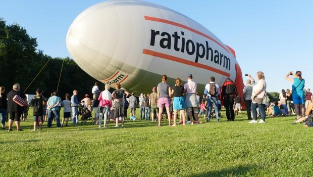 Ballonfestival Bonn Luftschiff