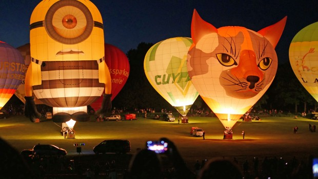 Ballonfestival Bonn Nightglow