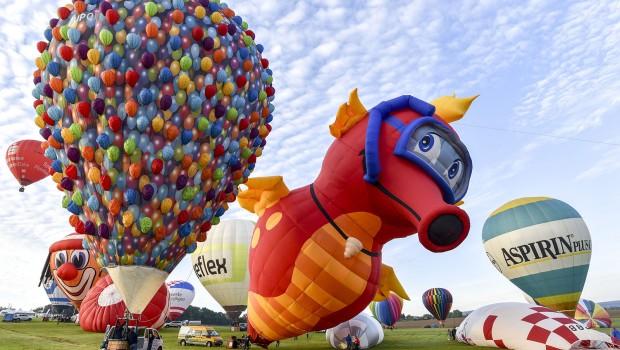 12. Int. GermanCup für Heißluftballone