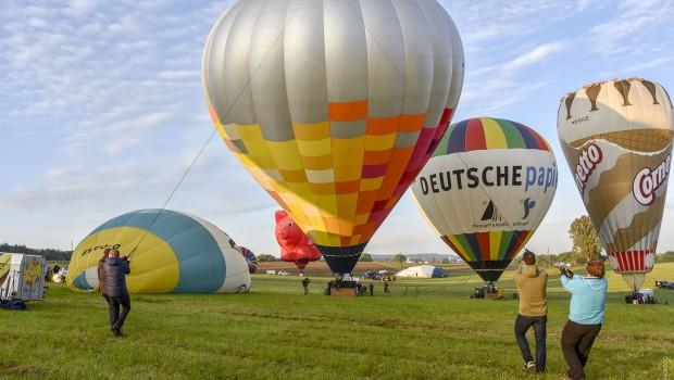 11. Int. GermanCup für Heißluftballone