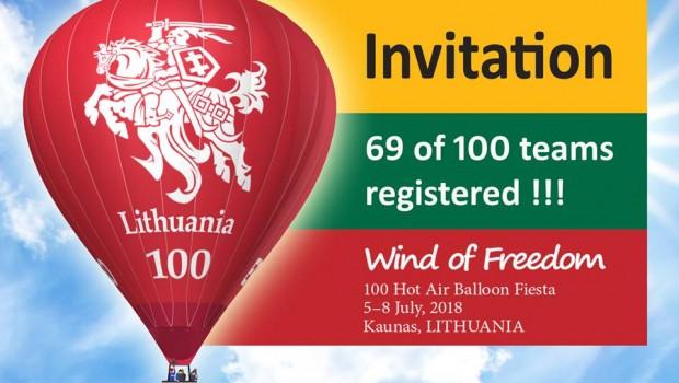 Wind of Freedom, 100 Hot Air Balloon Fiesta