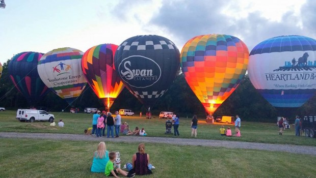 Montpelier Ohio Bean Days Balloon Festival
