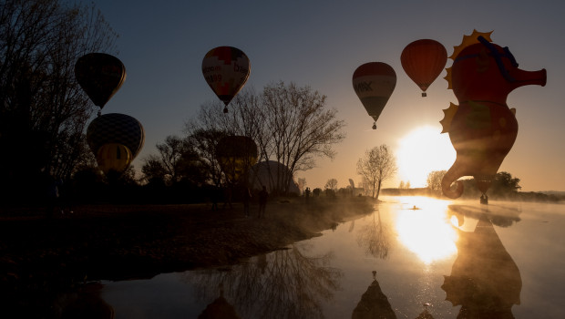 Coruche Ballooning Festival