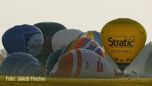 26. Niederbayerische Heißluftballon-Wettfahrt Landshut/Niederbayern