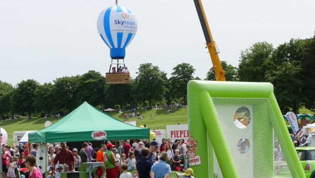 Familienfest Ballonfestival Bonn