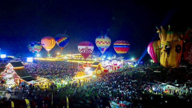 Singha Park ChiangRai International Balloon Fiesta