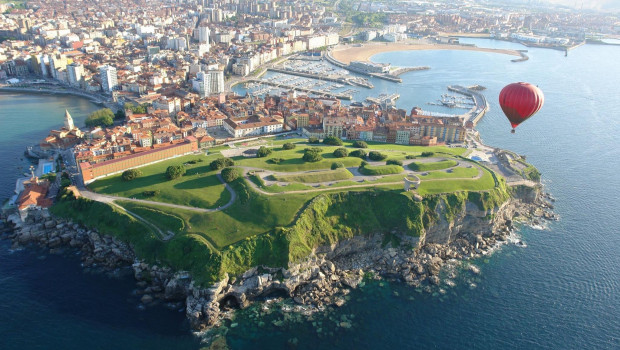 Gijón bay