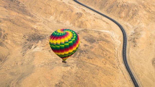 Hodhodsoliman hot Air Baloon in Luxor Egypt