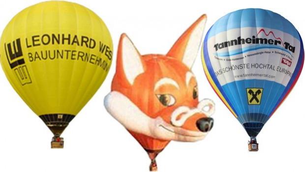26. Internationales Ballonfestival im Tannheimer Tal
