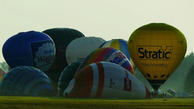 27. Niederbayerische Heißluftballon-Wettfahrt Landshut/Niederbayern