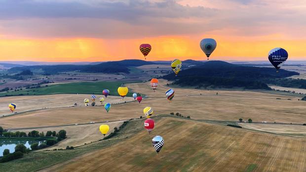 25. Thüringer Montgolfiade mit offener deutscher Meisterschaft Heißluftballon