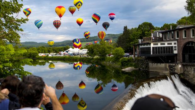 Quechee Hot Air Balloon Music & Craft Festival